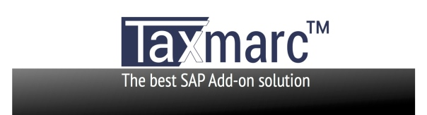 Taxmarc™ SAP solution2