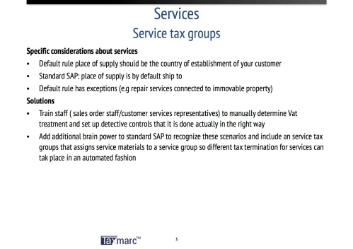 service tax groups