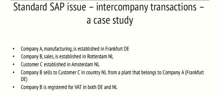 SAP for VAT – Tax News