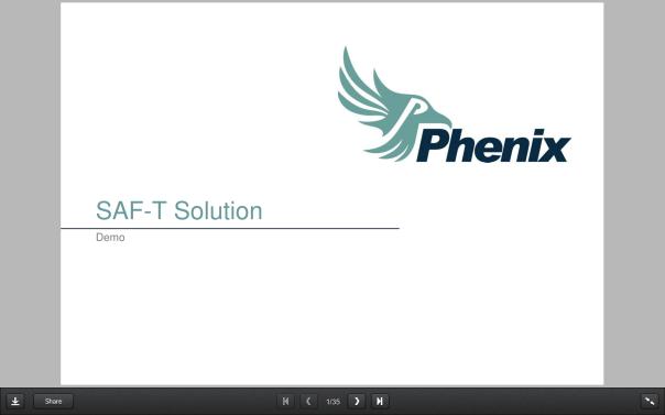 Demo via PowerPoint